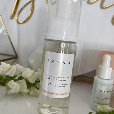 nutrimetics iryna skincare cleansing mousse