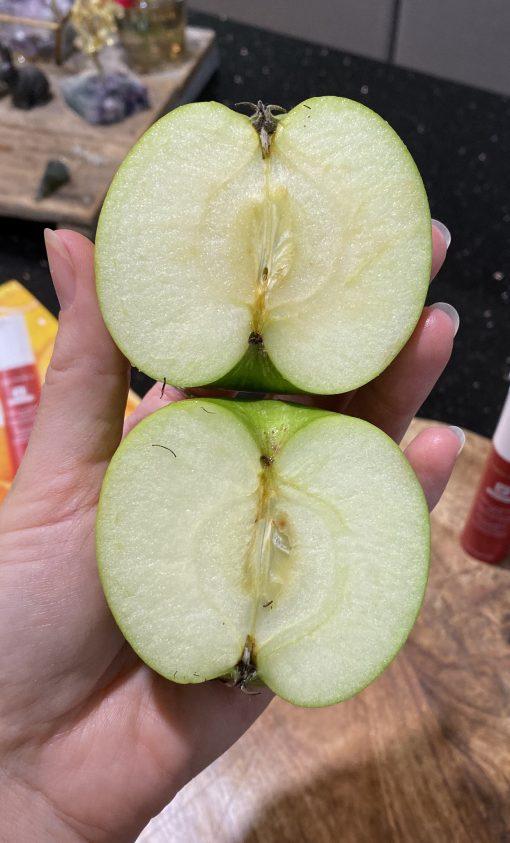 nutrimetics super c and retinol serum apple test
