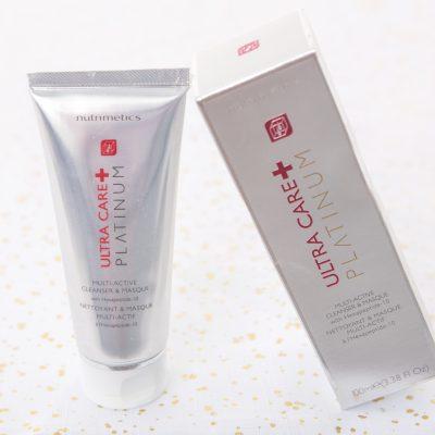 nutrimetics platinum multi-active cleanser and masque