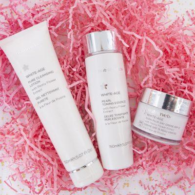 nutrimetics white-age skincare collection trio
