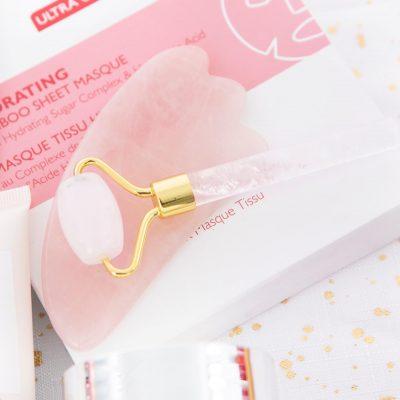 nutrimetics petite clear quartz facial roller