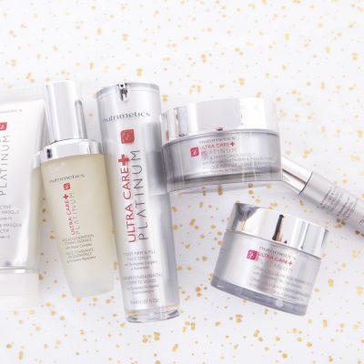 platinum skincare collection nutrimetics